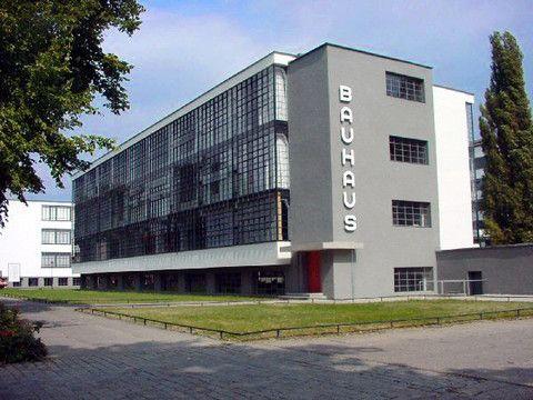 Баухауз в Дессау. Германия.