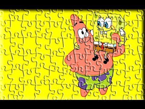 Sponge Bob Super Funny Puzzle Games For Kids - Kids Puzzle Game