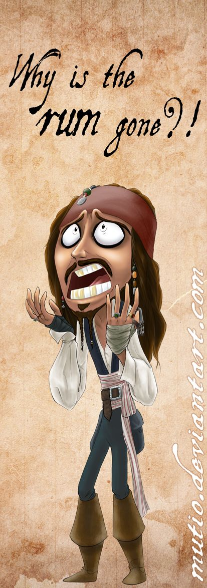 Jack Sparrow Bookmark