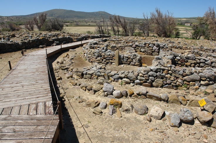 prehistorical town POLIOCHNI, Limnos island, GREECE
