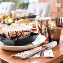 Tanssi Dinnerware, magical...Rillan koti - http://rillankoti.indiedays.com/
