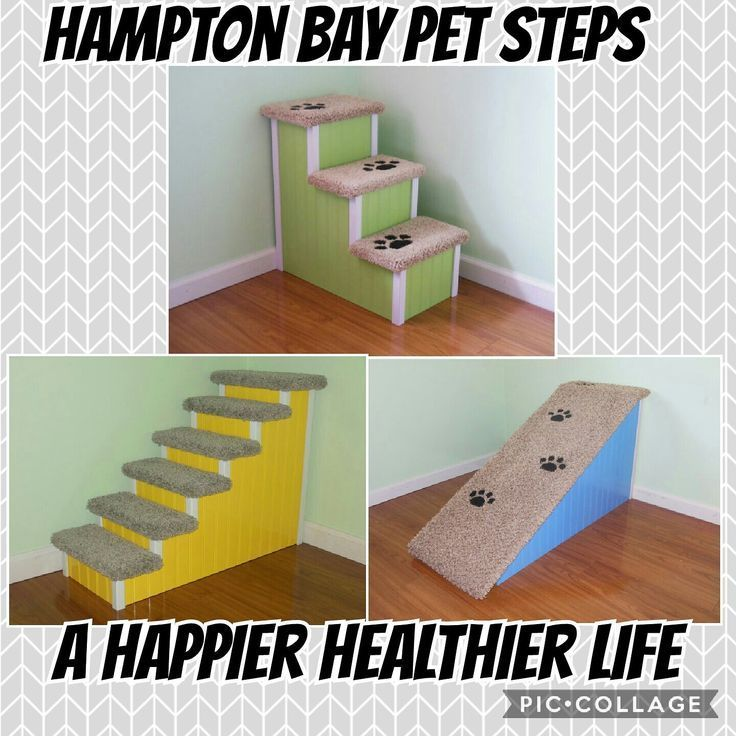 Custom Handmade Pet Stairs & Ramps #doggystairs #dogramps