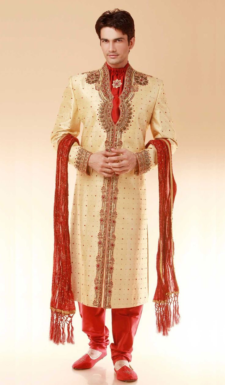 54 Best Images About Groom Dresses On Pinterest Sherwani