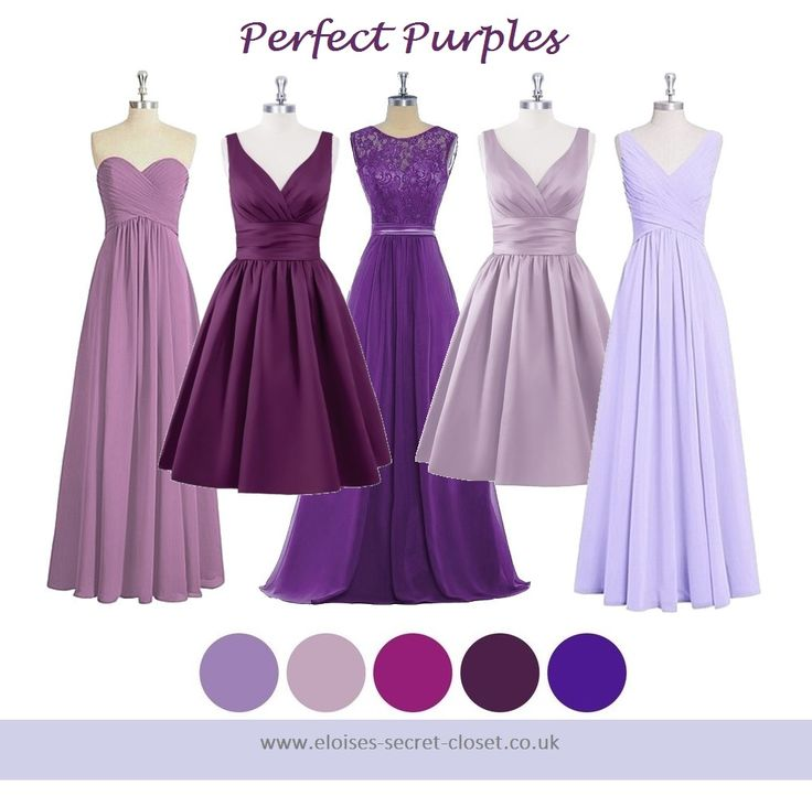 86 best Lilac Lavender Bridesmaid Dresses images on Pinterest ...