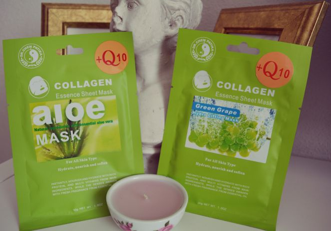 Relaxing Mask, Masks, Collagen, Aloe, Beauty Products, Cosmetics, Clear Skin, Beautiful Skin, Review