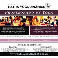 Profesorado de Yoga - Hatha Yoga Dinamico - #YogaEvent in Buenos Aires Argentina Saturday, Mar 2 - 2013