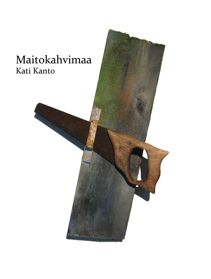 Kati Kanto: Maitokahvimaa. Omakustanne 2015.  #kirjat #novellit #Lappi