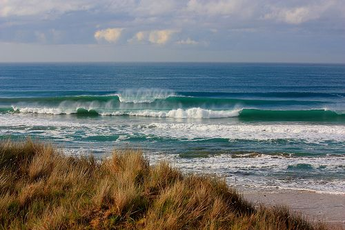 Surf near Gisborne NZ