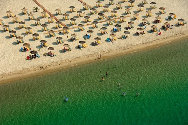 Ammoglossa Keramotis beach, Kavala city, Macedonia region