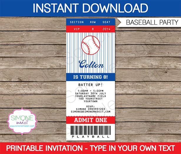 99 best images about teacher appreciation week sports for Sports ticket template free download