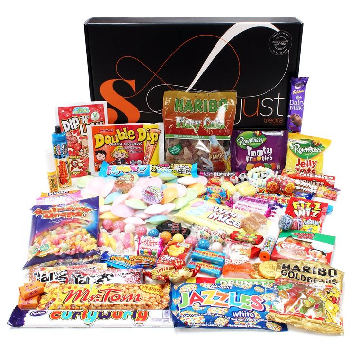 Retro Sweets Hamper: Just Treats Solar Gift Hamper: Jam Packed with the Best Ever Retro Sweets: Amazon.co.uk: Grocery