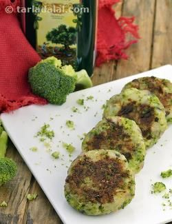 Cheese and Broccoli Tikkis, Cheese Cutlet Recipe