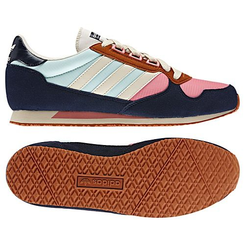 love this unusual color combo // adidas Julrunner Shoes
