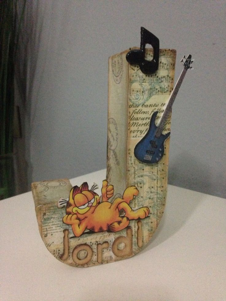 411 best letras decoradas images on pinterest decorated - Letras de madera decoradas ...