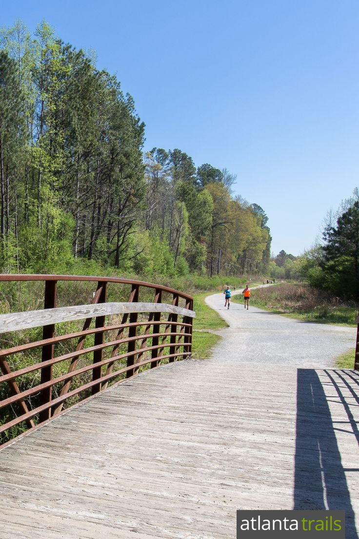 Hike walk run or bike over 4 miles of wide level Cochran shoals