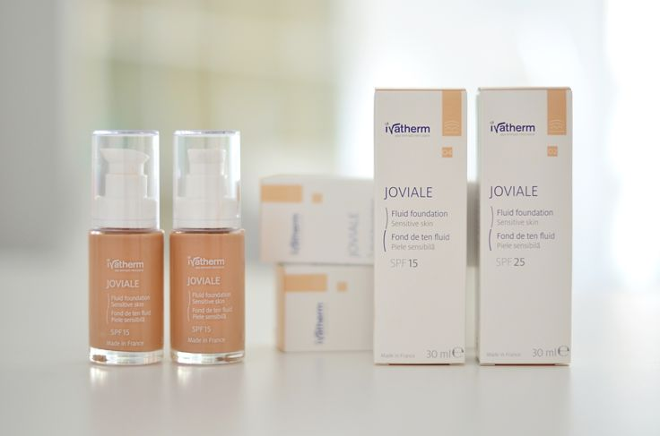 #ivatherm #joviale #fluidfoundation #sensitiveskin