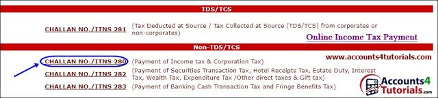 How to Pay Income Tax or Corporation Tax Payment Through Online_1/4