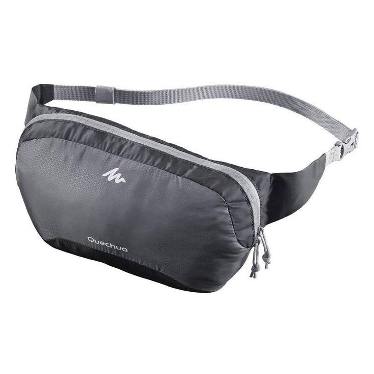 Снаряжение для походов Сумки, рюкзаки - Компактная поясная сумка QUECHUA…