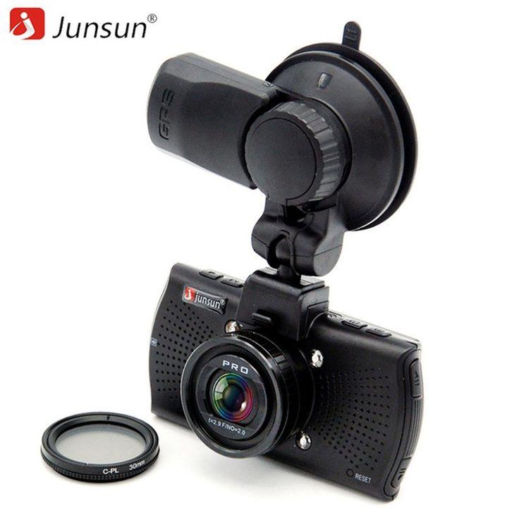 Junsun A7810 Ambarella A7LA70 Car DVR Camera GPS with Speedcam 1296P Full HD 1080p 60Fps Video Recorder Registrar Dash Cam //Price: $106.08 & FREE Shipping //     #android