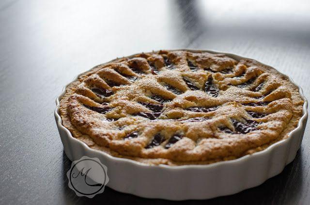 Švestkový koláč s mandlovým krémem ~ Mangiare squisito ~ Foodblog