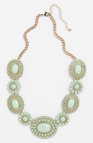 BP.+Floral+Statement+Necklace+(Juniors)+available+at+#Nordstrom