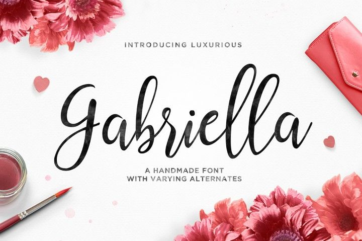 Gabriella Script By TRF Fonts