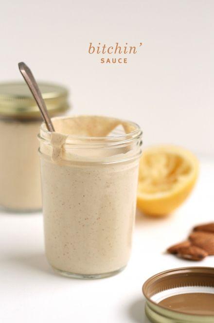 vegan bitchin sauce: Farmers Market, Sauces, Food, Recipes, Sauce Recipe, Bitchin Sauce, Vegan Sauce