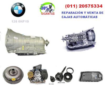 GIGANTUS: Reparación de caja automática BMW 120
