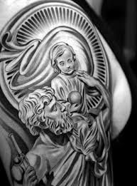 Image result for st christopher tattoo images