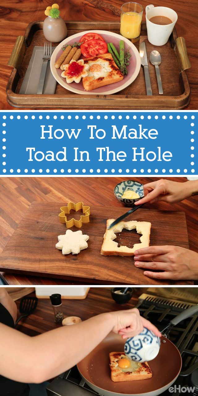 Toad in the hole is a great breakfast/brunch idea (especially for a ...