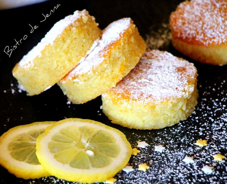 Moelleux au citron-Ciasteczka cytynowe puszyste
