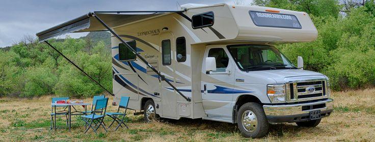 RV Rent - Motorhome Rental - Road Bear RV USA - Class C 19-22'