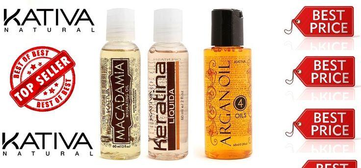 Kativa Natural Oils - Έλαιο Κερατίνης για θρέψη 60ml - Έλαιο Macadamia για ενυδάτωση 60ml - Έλαιο Argan Oil για αναδόμηση 60ml BEST SELLERS!!! Εσείς τα δοκιμάσατε;;;