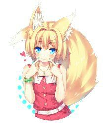 Cute little Catgirl who's smiling <3
