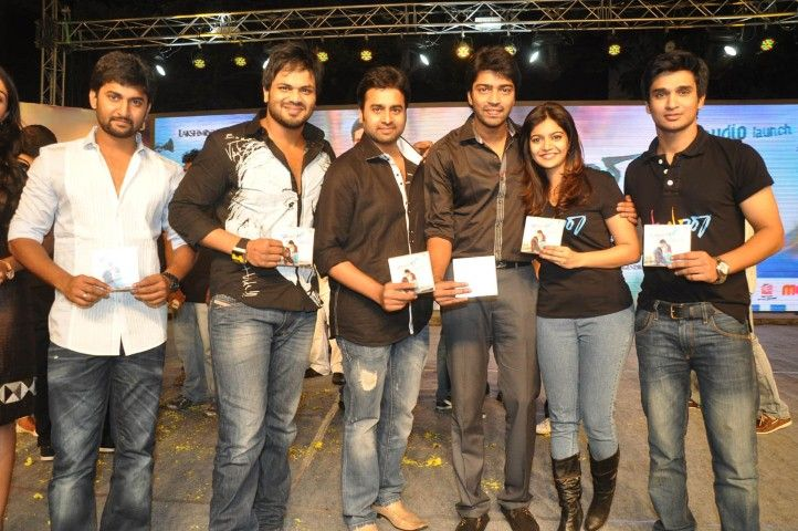 Nani, Manoj, Nara Rohit, Allari Naresh & Others @ Swamy Ra Ra Movie Audio Launch