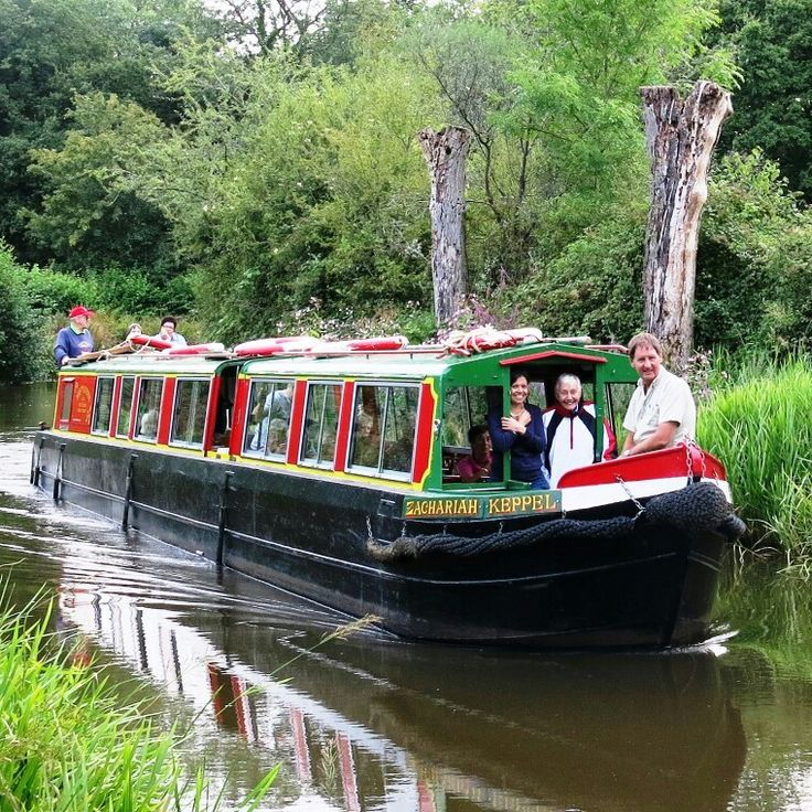 Wey & Arun Canal Trust trip boat Zachariah Keppel is a traditional narrowboat and can accommodate up to 27 passengers.