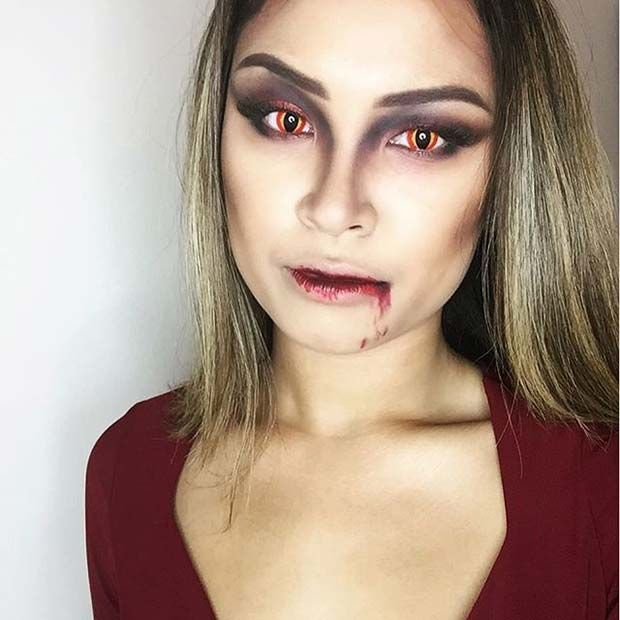 Best 25+ Halloween makeup vampire ideas on Pinterest ...