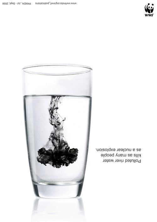 L'eau d'une rivière polluée tue autant qu'une explosion nucléaire