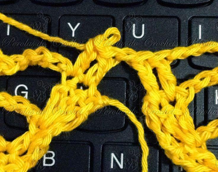 Vamos crochetar?     MATERIAL   1 NOVELO D FIO CLÉA DA CÍRCULO (fio duplo)   AGULHA 3MM       Esse passo-a-passo vai para aquelas croch...