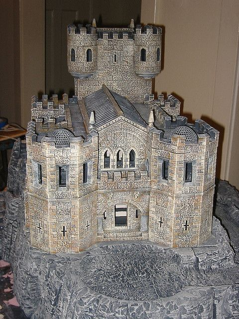 A Castle Using Hirst Arts Bricks Excellent Build