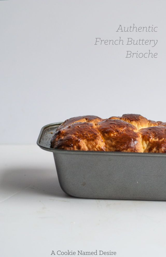 Rich, buttery authentic French brioche loaf