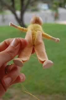 Making dolls wood and wire doll tutorial boyParenting Fun Every Day