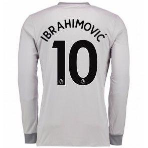 Manchester United Zlatan Ibrahimovic 10 Kolmaspaita 17-18 Pitkähihainen