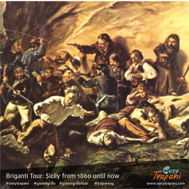 Briganti Tour: Sicily since 1860 In this picture, Castellammare del Golfo's uprising 1862 Imagine diving into a journey through time and find ourselves in the crucial year 1860. Retracing the journey of Garibaldi and his thousand red shirts, start from Marsala, where the landing took place. From there, we continue on to Calatafimi, visiting both the Museum of the Risorgimento and also the sites of the fateful battle against the army of the Kingdom of Two Sicilies A historical journey into…