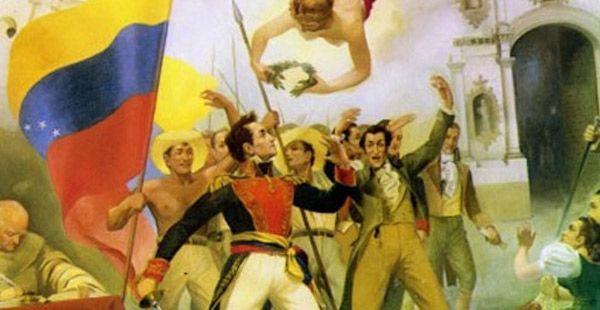 Nacimiento de la Gran Colombia