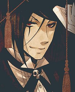 """Black Butler ~~~ Sebastian as """"Black"""" in the Circus :: does anyone have Will as """"Suit""""?! I'd love to see it!"""