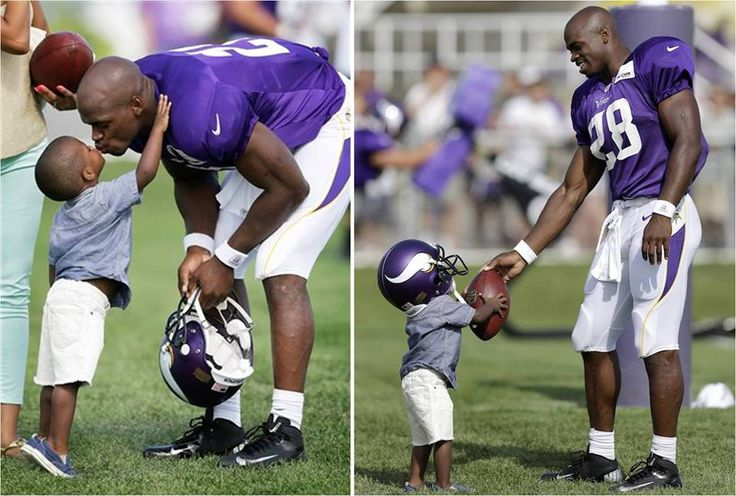 SAD NEWS: Minnesota Vikings Running Back Adrian Peterson's 2 Year Old Son Dies After Alleged Assault by Mother's Boyfriend