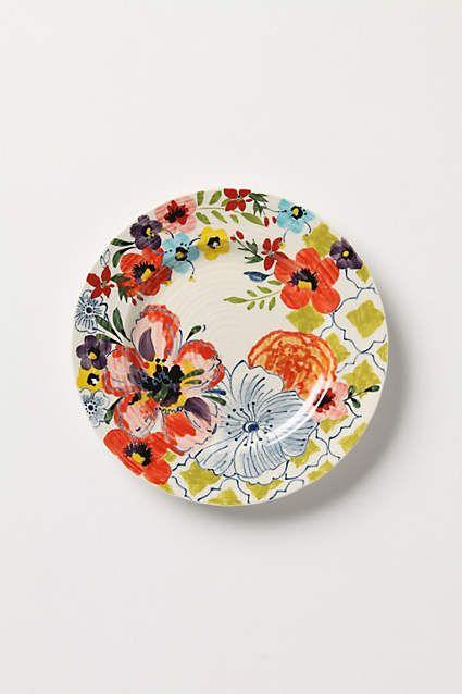Sissinghurst Castle Side Plate - anthropologie.com