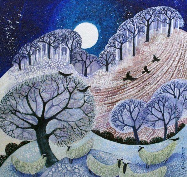 First Snow Surrey Hills Prints by Lisa Graa Jensen | Magnolia Box