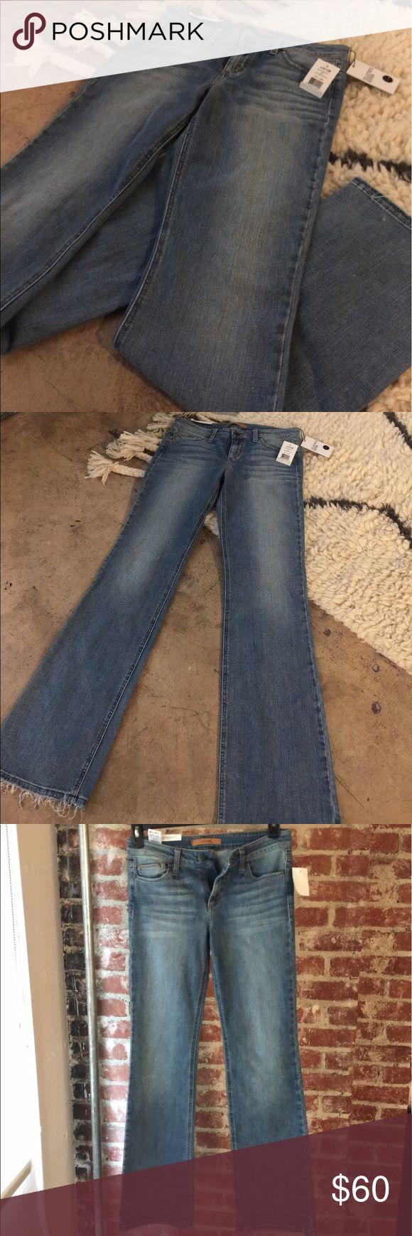Joe's Jeans The Vixen Sassy Boot Cut Jeans Fits great. Perfect boot cut. Works well with heels, flats and fits over boots. You'll definitely feel like a Vixen in these. Joe's Jeans Jeans Boot Cut